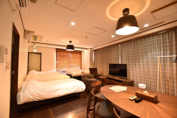 2 BedRms Suite♦︎Ueno Asakusa♦︎40mins to Airport