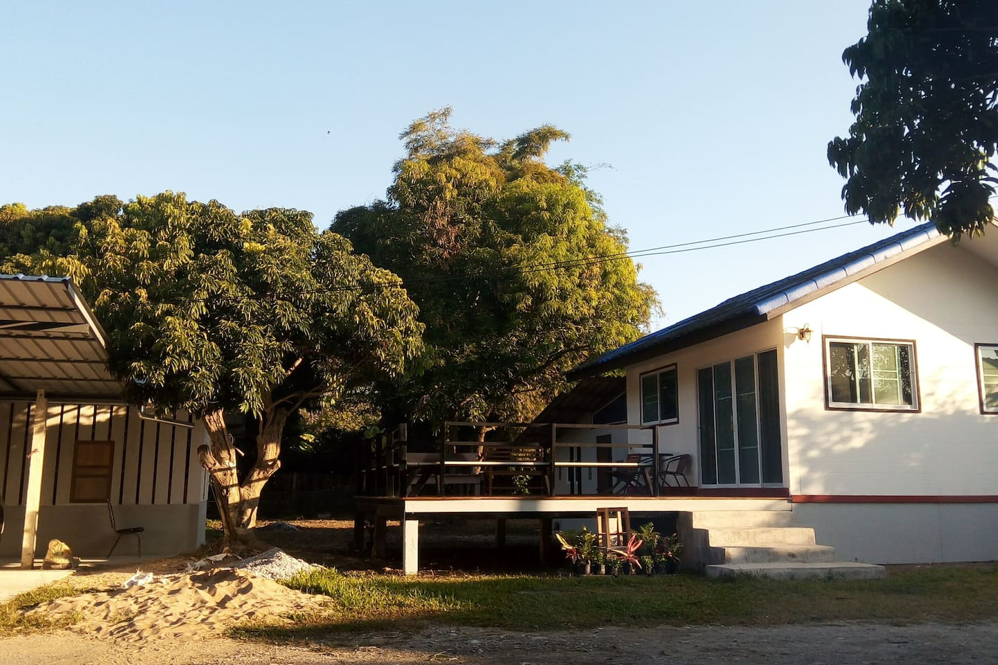 This is your little house in the village with private deck, bath and kitchen