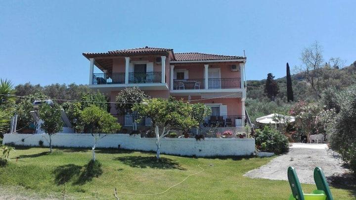 Corfu, Armonia Apartments, Messoghi
