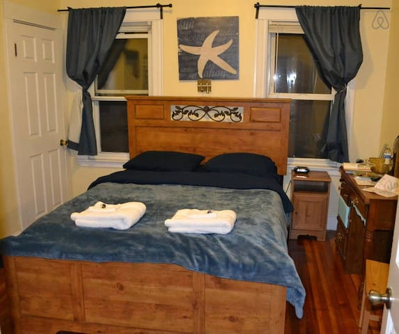 Queen Bed/Near Subway/Free Passes - Boston - Flat