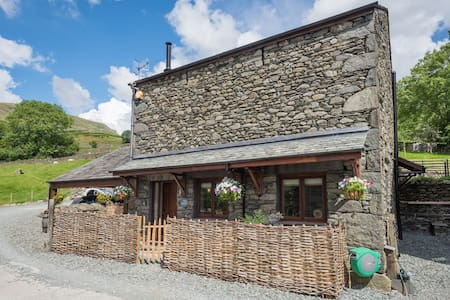 'The Byre' on Broadrayne Farm - Grasmere