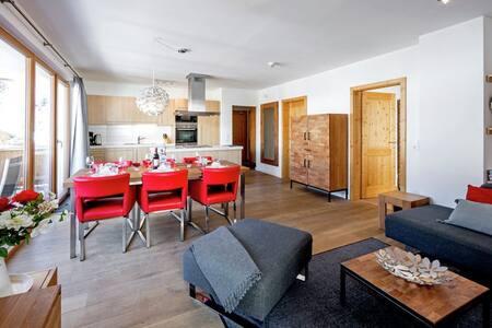 Luxe apartm. 6p. Gerlos Centrum, 3 bedroom. WIFI