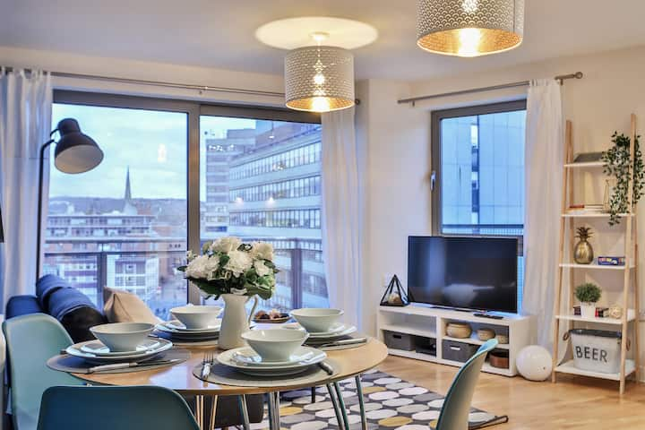 Skyview Apartment | Free parking | City Centre ✅