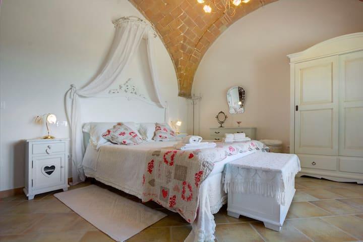 La Romantica, Chambre avec vue sur les collines