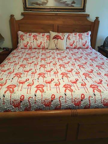 King size memory foam mattress in Bedroom