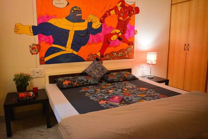 Marvel series - Private Room in a villa