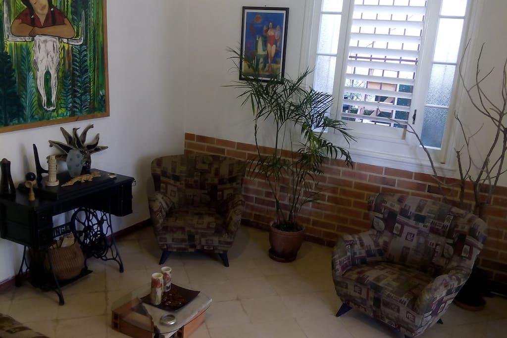 Sala de la casa, espacio común