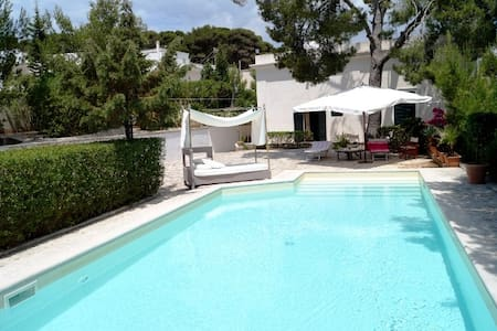 Dream villa with pool in Leuca 100 mt from the sea - Leuca - วิลล่า