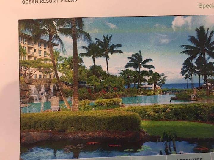 Beautiful Westin Resort on Ka' anapali beach