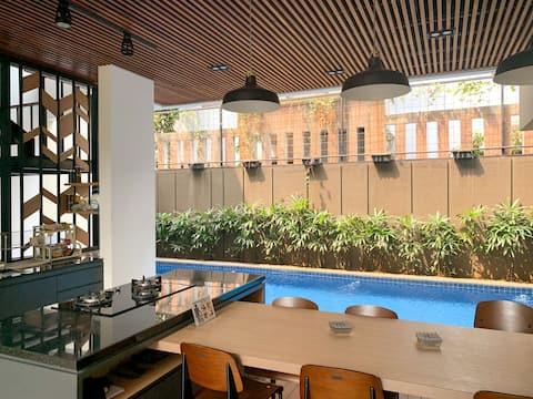 Standard Room Garden View Coliving Kimbel Loft