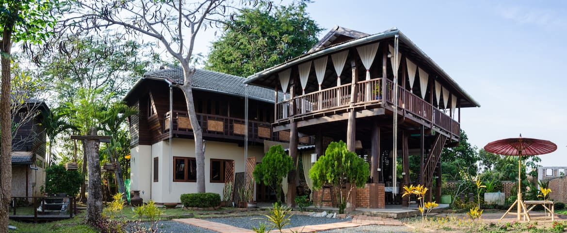 Thai traditional Boutique House Free Pick up&bf