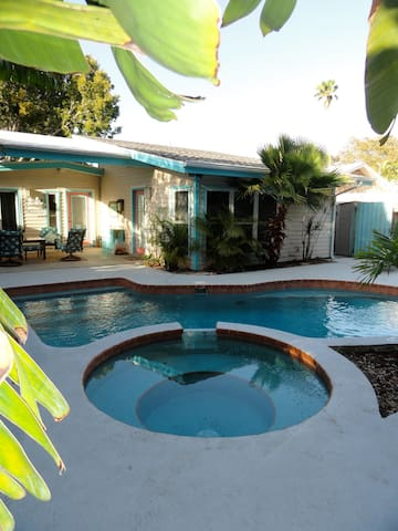 Pool and spa heat are available for an upcharge.