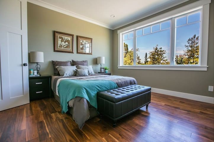 Private Master bedroom in a house