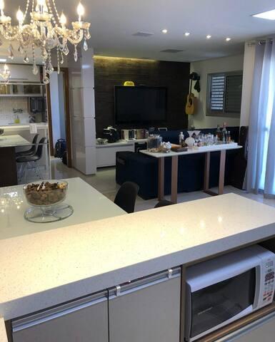 Apartamento Decorado Alto Luxo - Santa Rosa