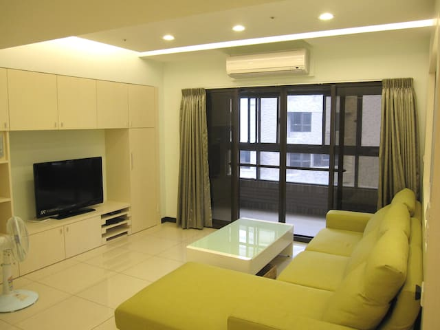 Clean Room Nearby MRT Huilong St. B - Xinzhuang District - Apartament