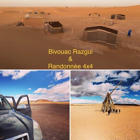 ★Bivouac Razgui-Sahara★Chegaga★désert Morocco❤️