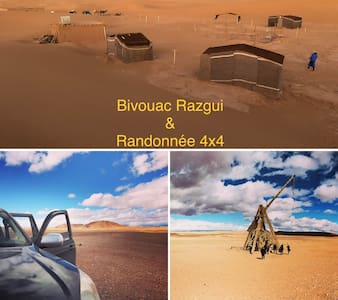 ★Bivouac Razgui-Sahara★Chegaga★désert Marocain❤️
