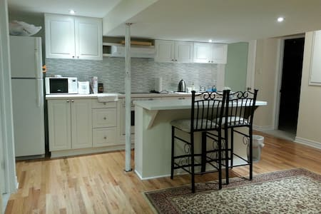 Private, peaceful apartment near the airport - Ottawa