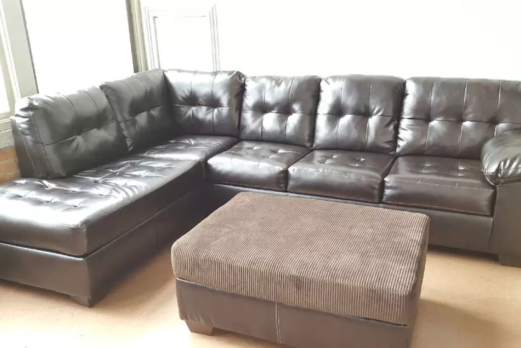 Comfy sectional to chill!