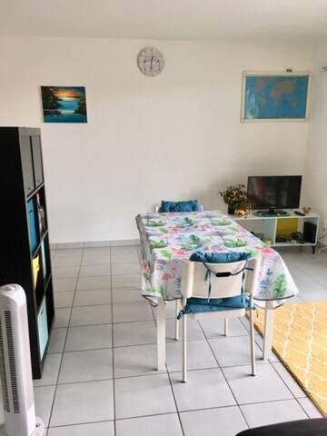Appartement F2 à 10 min de la Porte Thiers