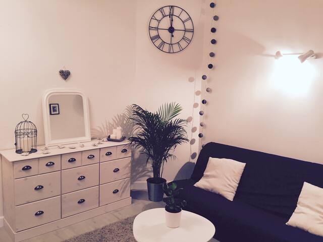 Studio romantique, au calme, au coeur de la ville - Grenoble - Appartamento