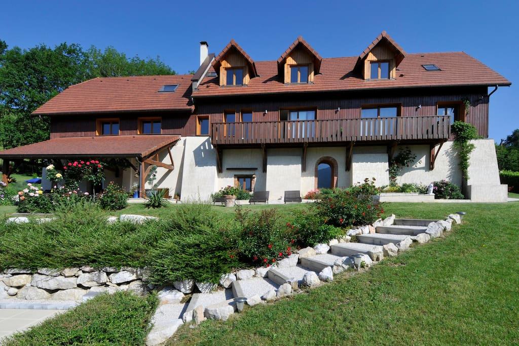 Villa chambre d 39 h tes 4 avec piscine chauff e guest - Chambre d hote avec piscine chauffee ...