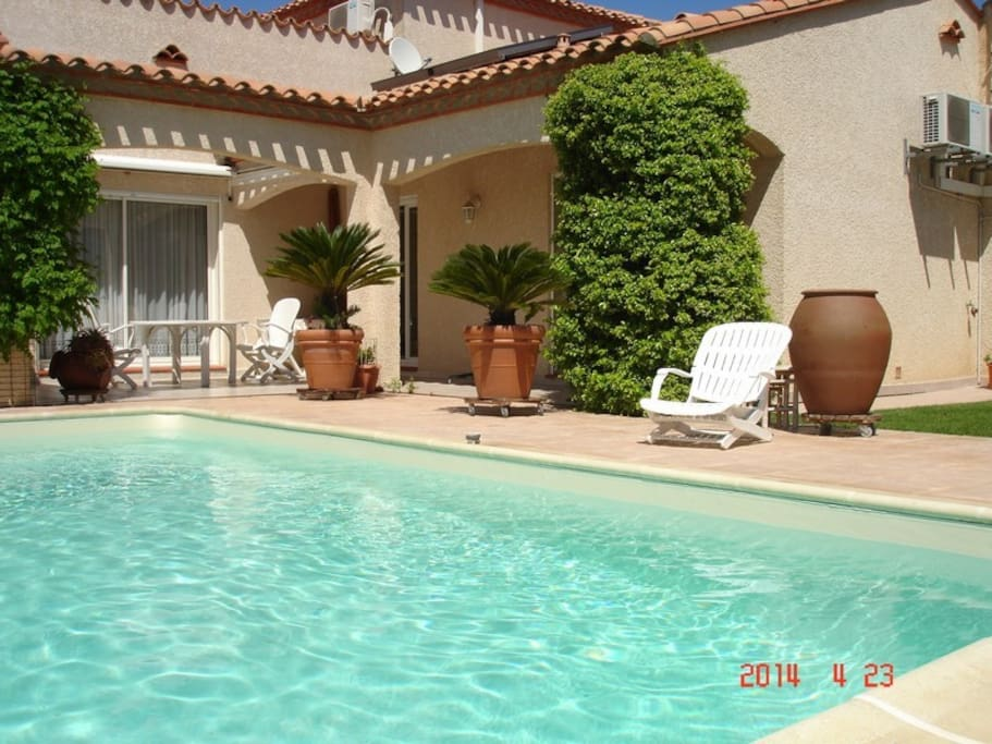 La casa nostra villas louer saint est ve occitanie for Piscine st esteve