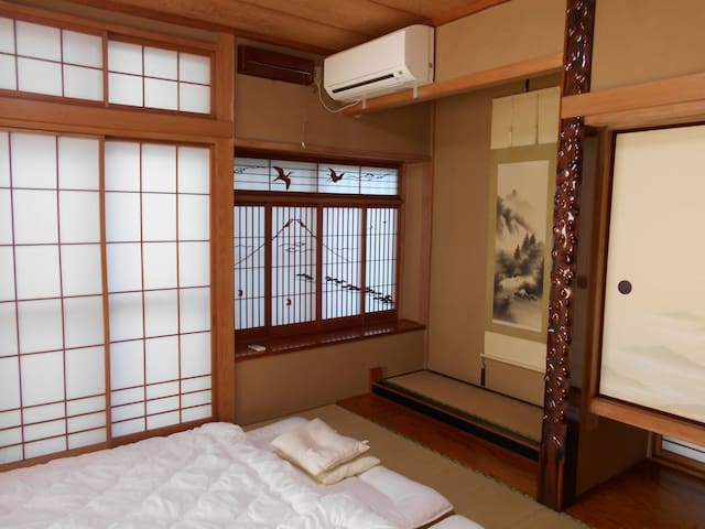 ★下宿★at ease in Tatami Room, as if at your own home - Kashiwa-shi - Huis