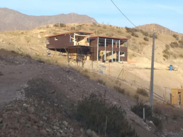 Hermosa casa valle del elqui para ver eclipse