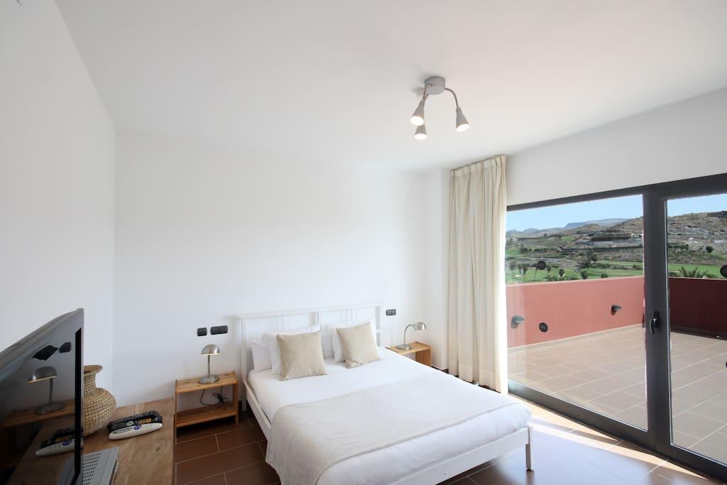 Salobre Villas bedroom