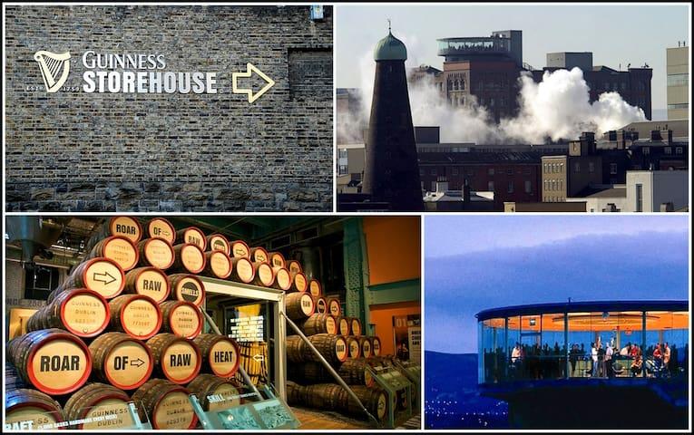 Guinness Storehouse - 12 minute walk