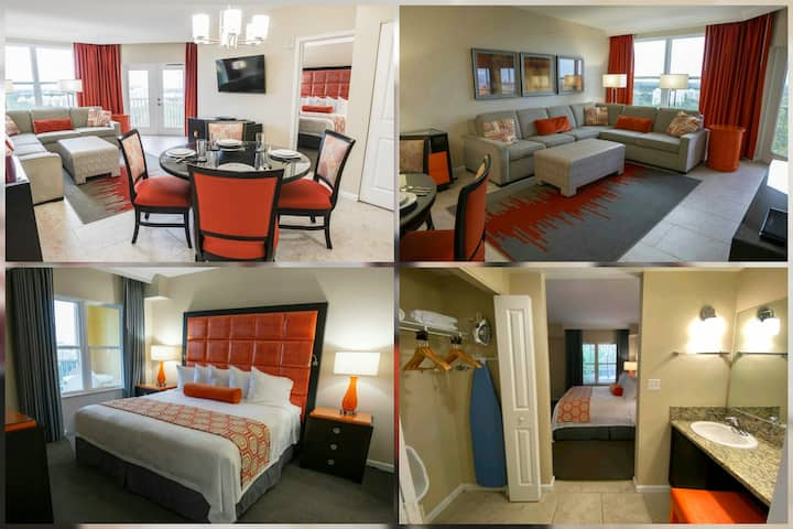 Spacious King Bedroom Suite With 7 Pools!