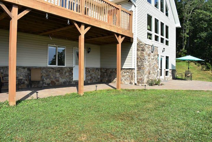 """Garden Suite"" at Cherry Mountain Retreat"
