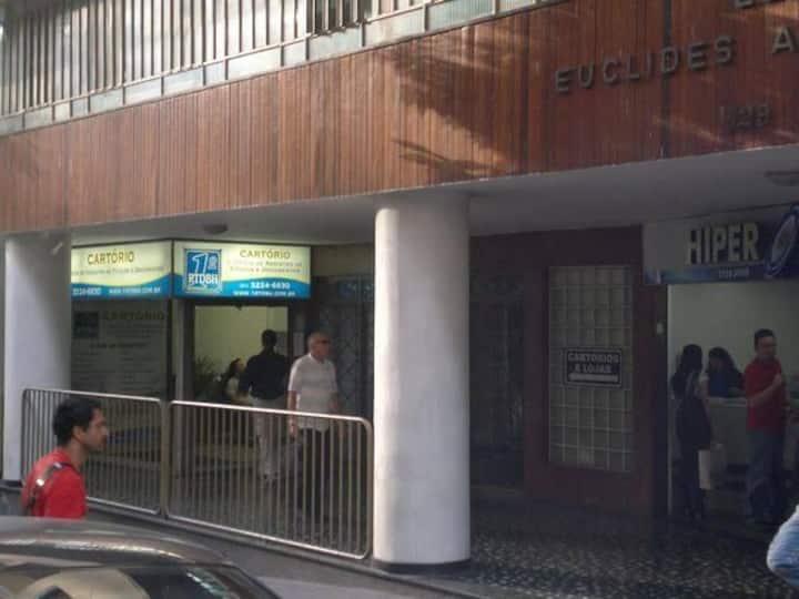 Quarto privativo no centro de Belo Horizonte