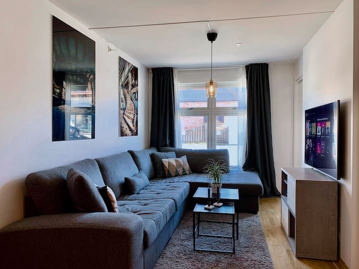 Nice and comfy apt. Close to Oslo and Oslo airport