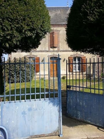 maison de caractère - Coudrecieux - Huis