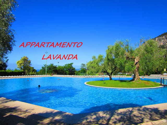 APARTMENT LAVENDER FRONT OF LAKE - Garda - Apartmen