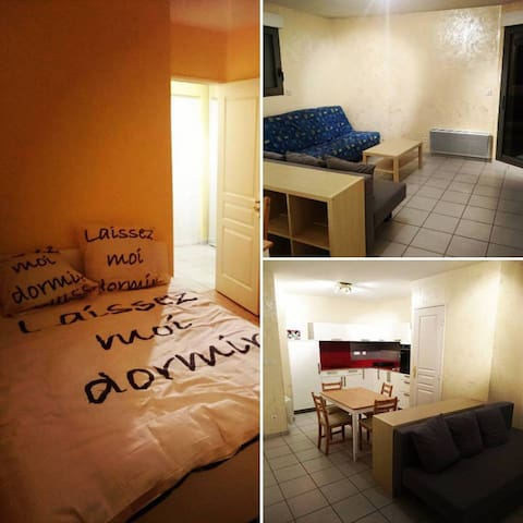 Appartement en plein coeur de la ville - Saint-Étienne - Apto. en complejo residencial