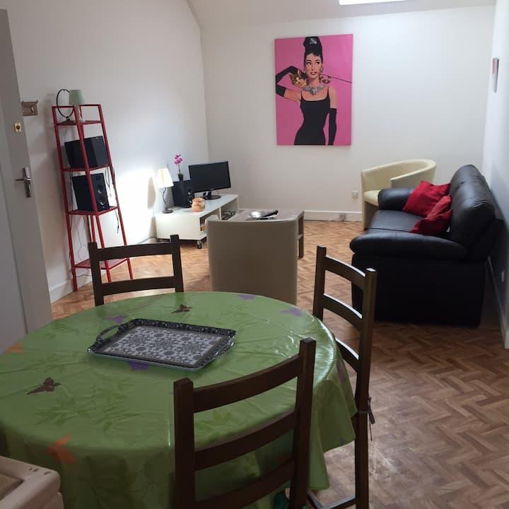 Appartement aux portes du Morvan  et de  l'Auxois