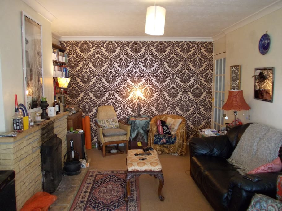 Shared living room (available from 5pm)