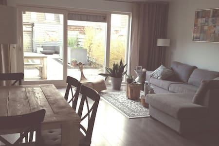 Family house, bathroom, 2 bedrooms, lovely garden - プルメレント - 一軒家