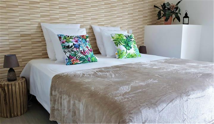Chambre privée dans hostel éco-responsable