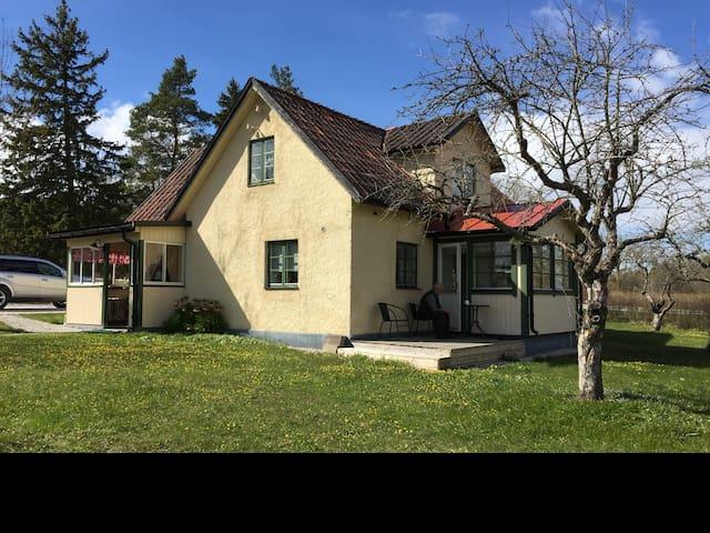 Mysigt hus på Landet i Ganthem - Romakloster - House