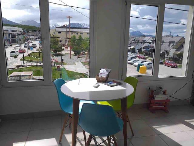 Departamento céntrico en Ushuaia con sistema Pilow
