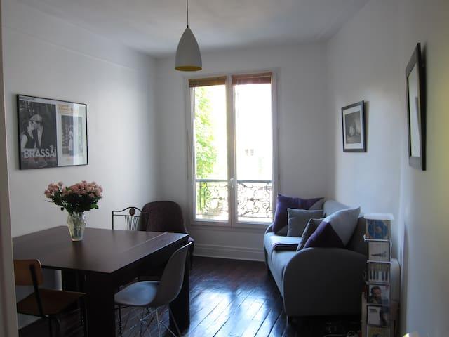 Apartamento Gare Montparnasse / Gaité / Pernety - Paris - Apartamento