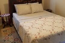 Queen size bedroom view