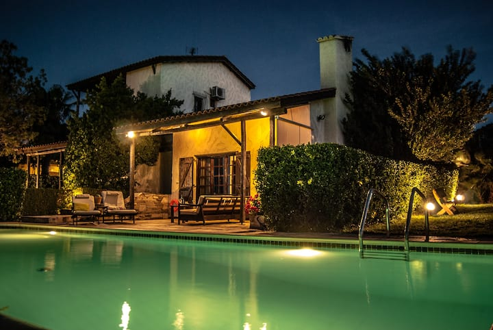 Errikos Villa with garden and swimming pool