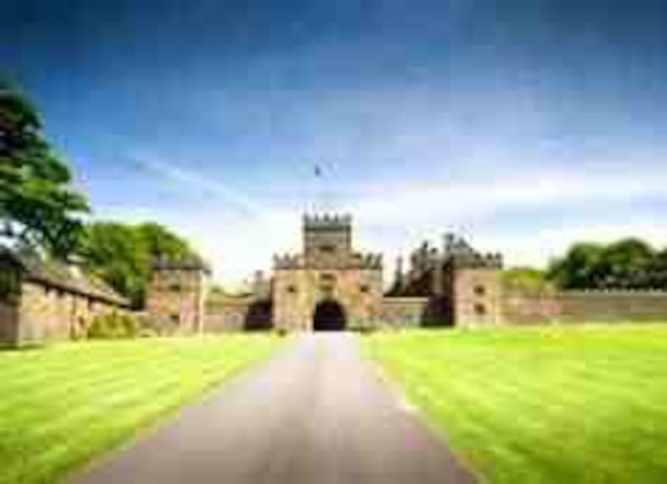 Magnificant hoghton tower