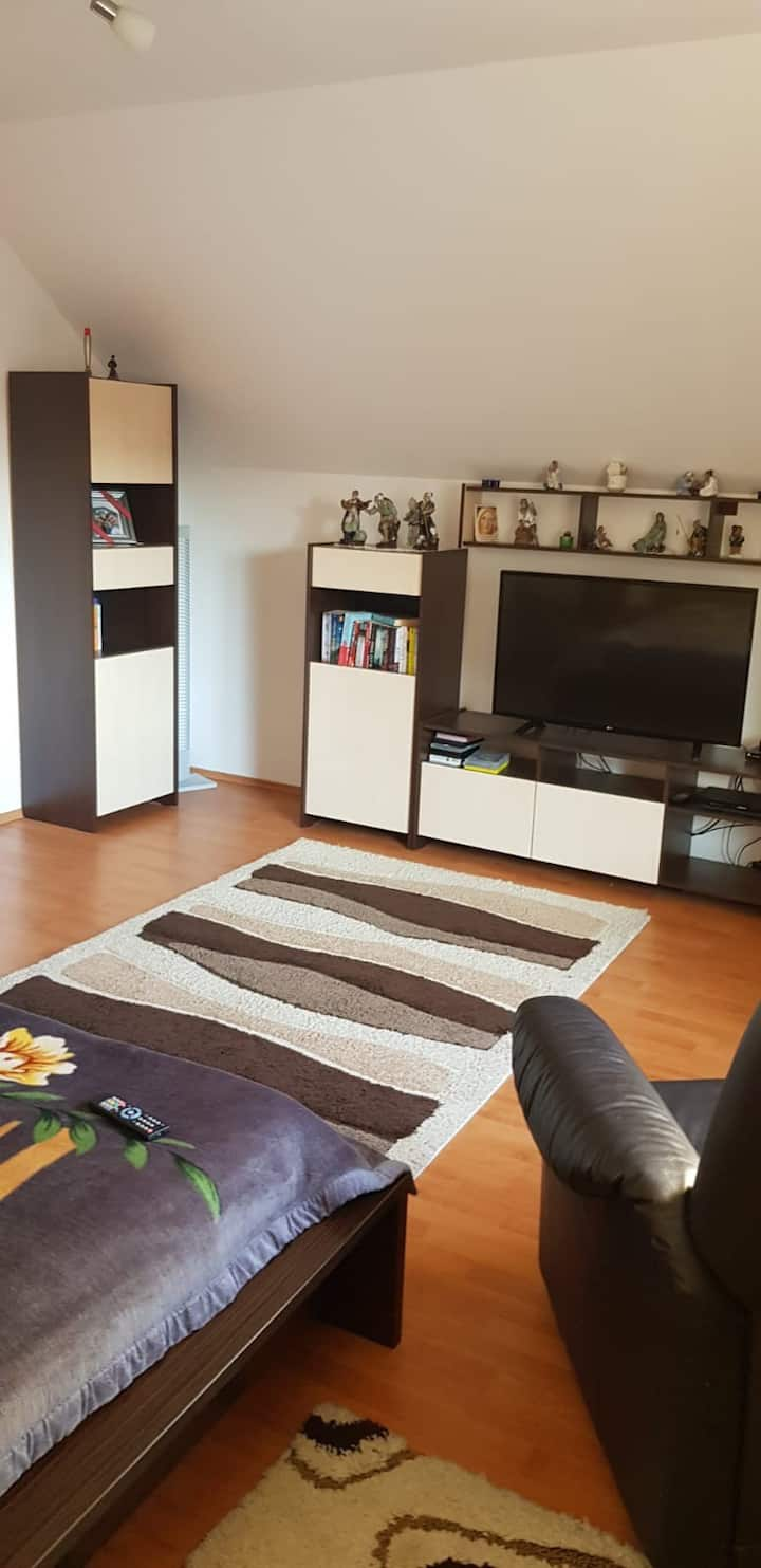 Apartament located in Rasnov