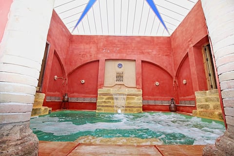 Villa with Hamman&pool in Seville